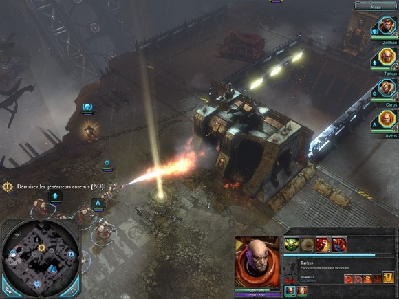 warhammer 2 gold pc              screenshot 2 Warhammer 40.000 Dawn of War II Gold Edition              PROPHET