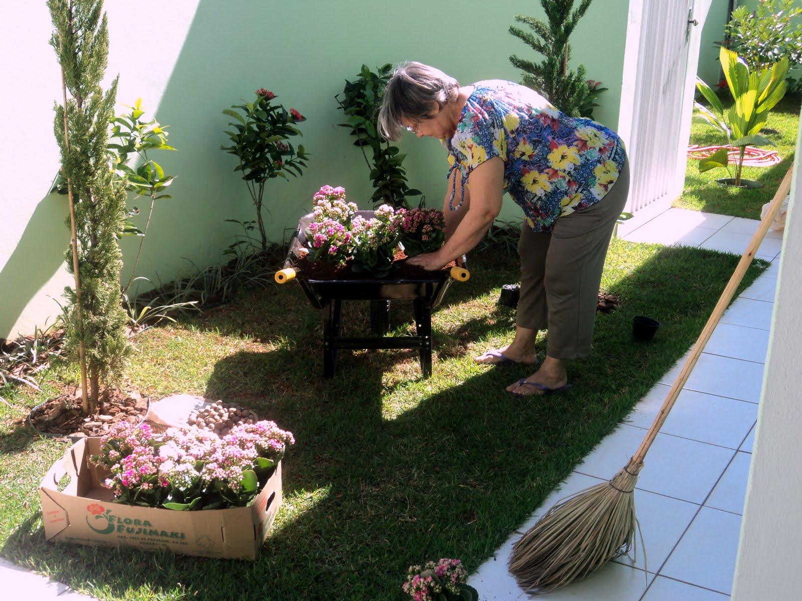sonho de ter um CARRINHO DE MÃO recheado de flores no nosso jardim