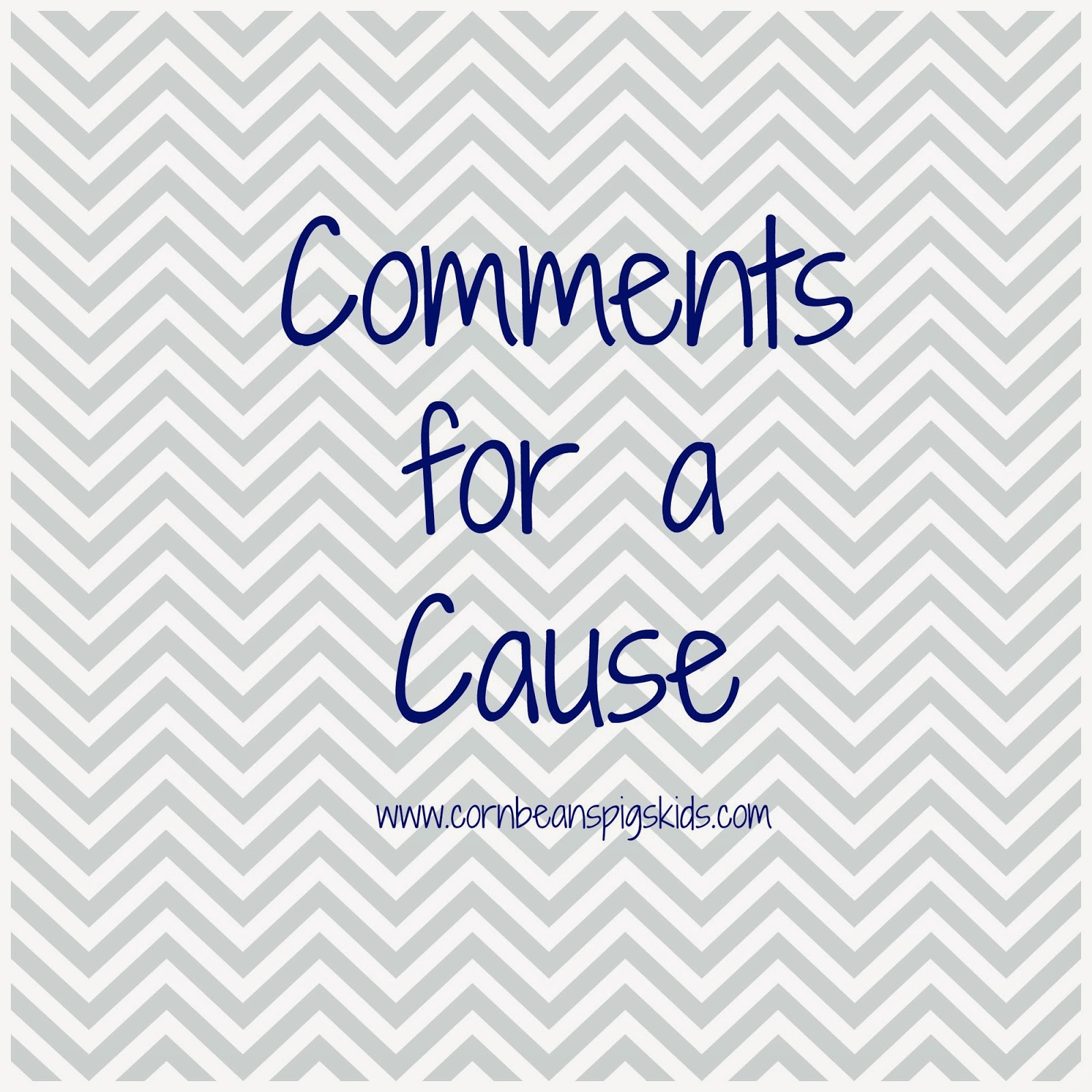 Comments for a Cause