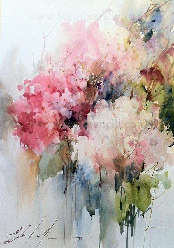 Artimanas Seleccion De Acuarelas De Flores Flowers Watercolors
