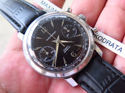 WAKMANN CHRONOGRAPH BLACK DIAL - MANUAL WINDING