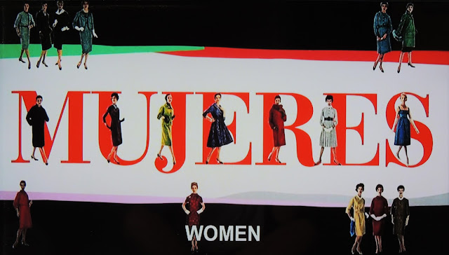 Almodovar's Mujeres title piece with vintage women