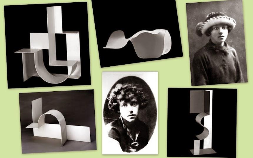 GRUPO (POLONÊS DOS) OITO [BLOK] (Varsóvia, Polônia, 1924-1926). Katarzina Kobro (1898-1952).