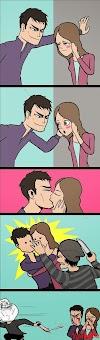 Đừng bao giờ hôn trước mặt thằng FA =)) Quá nhọ cho anh chị :))