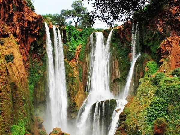شلالات أوزود Ouzoud Falls بالمغرب