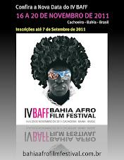 IV BAFF BAHIA AFRO FILM FESTIVAL