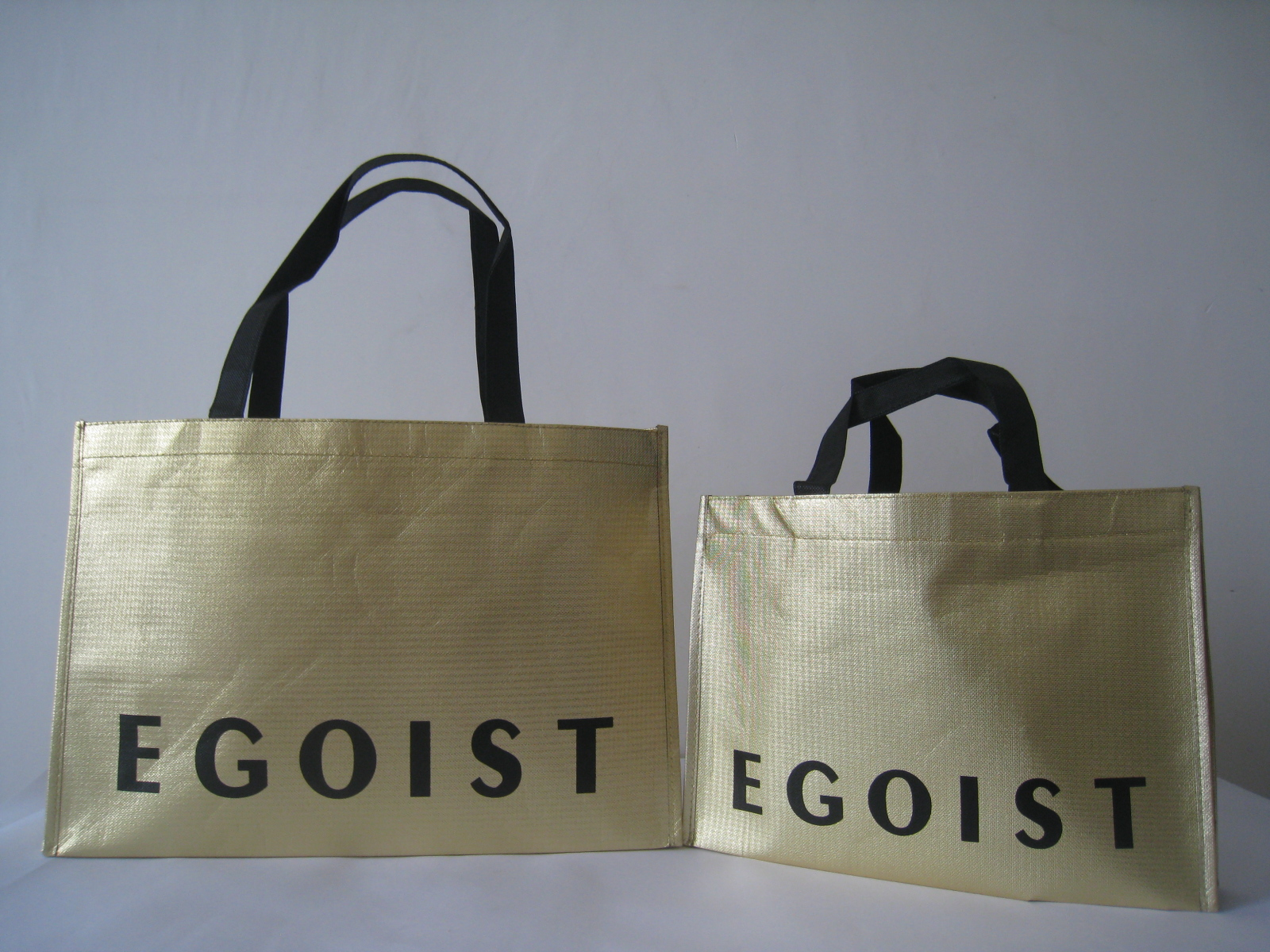 non woven bag this is a egoist non woven bag