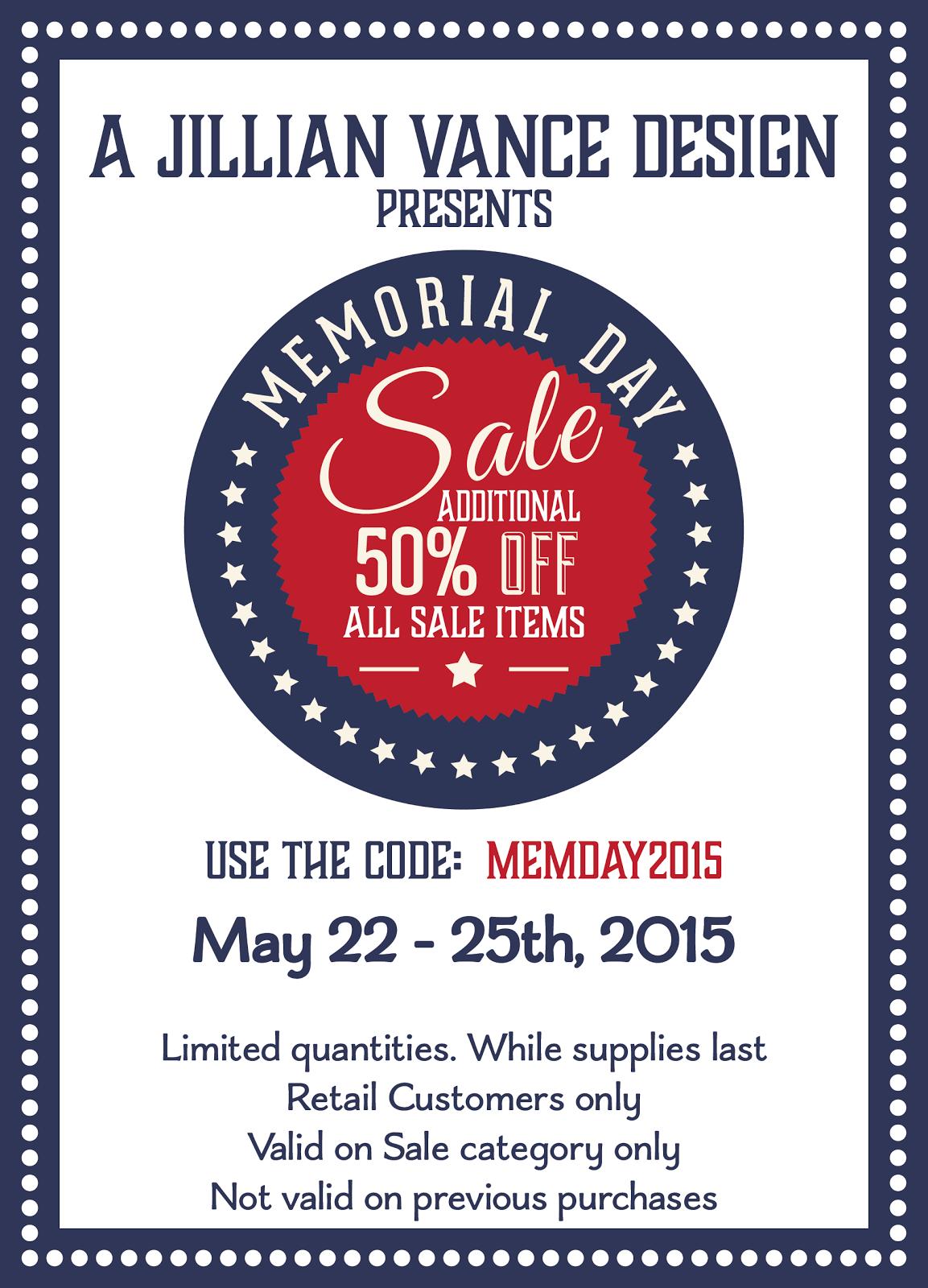 AJVD Memorial Day Sale!!