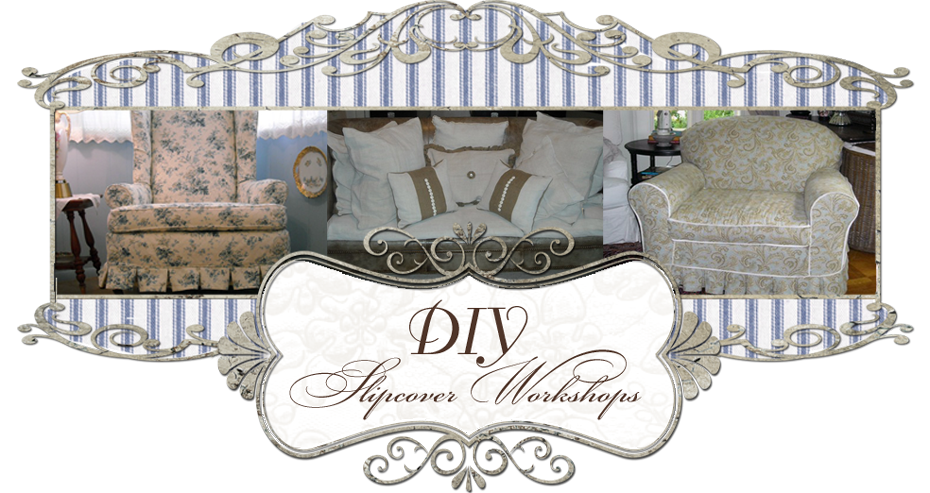 DIY Slipcover Workshops