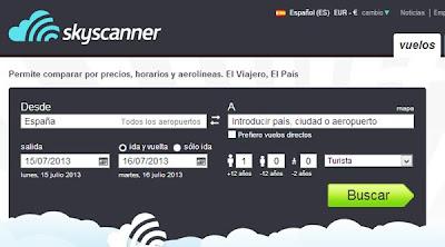 vuelos baratos Skyscanner
