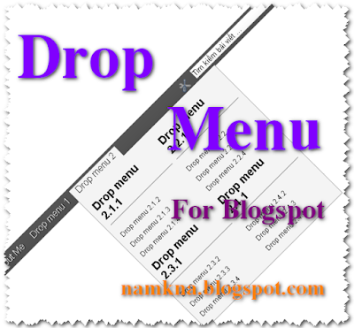 Tạo Drop Menu đơn giản có thêm ô Search