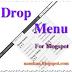 Tạo DropDown Menu Blogspot đơn giản có thêm ô Search