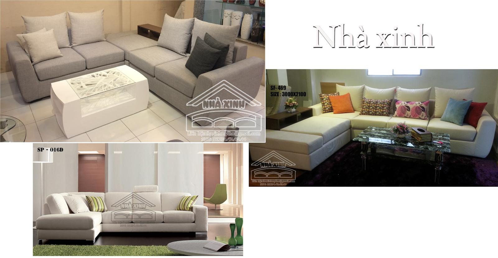 Sofa g c nh xinh m tho sfnx 469 016d for Sofa bed nha xinh
