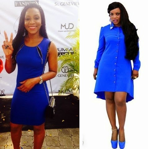 Between Genevieve Nnaji and Empress Njamah Fashion Line Debut, Do You Sense Any Rivalry? chiomaandy.com