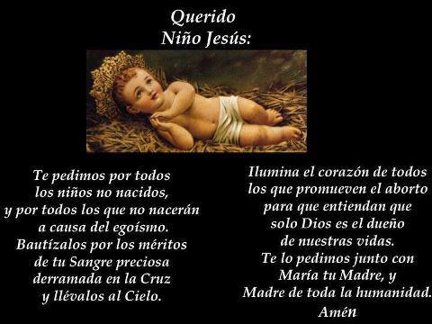 Oración Por Niños No Nacidos