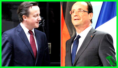 Cameron and Hollande