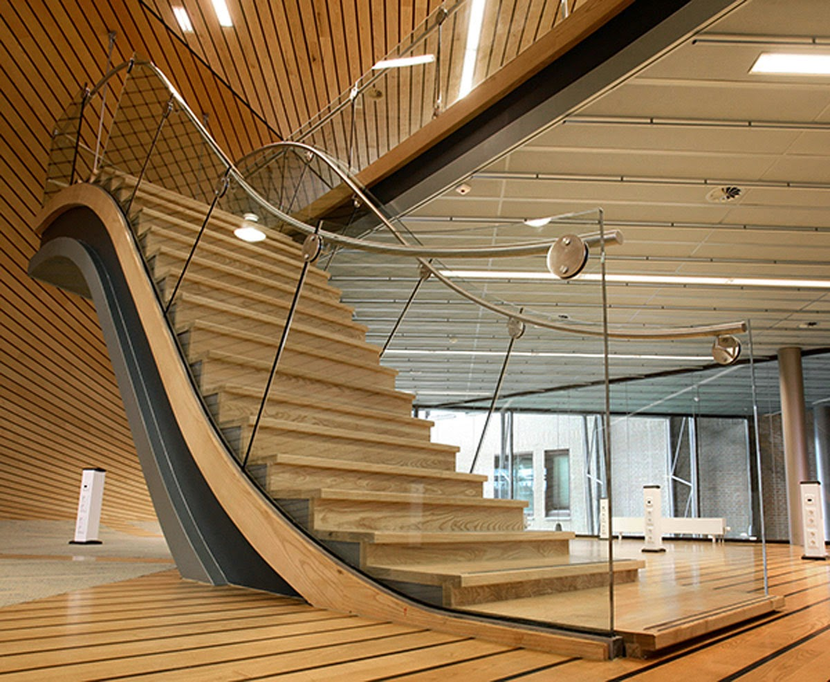 Interior Awesome Contemporary Staircase Decoration