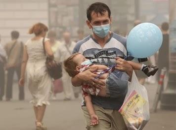 La contaminación del aire causa cáncer