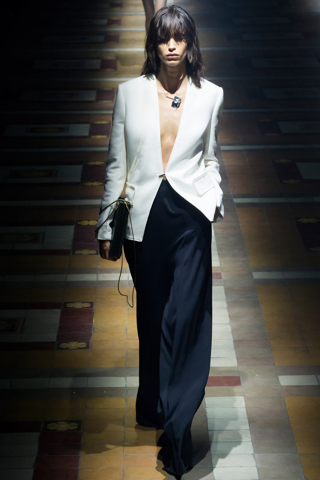Lanvin / Spring/Summer 2015 trends / trouser suit / styling tips and outfit inspiration / via fashioned by love british fashion blog