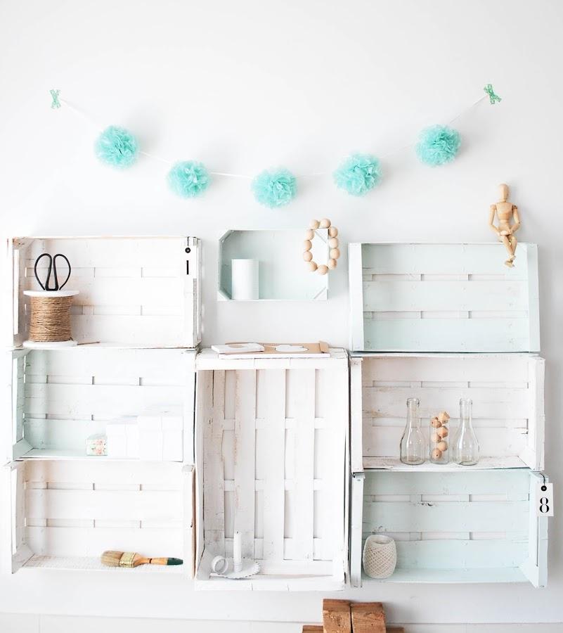 decorar con elementos reciclados