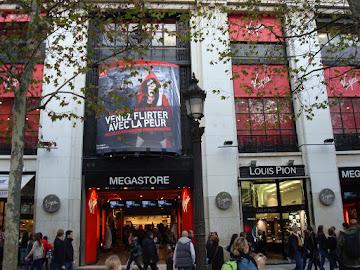 Loja da Virgin Megastores - Paris/ Franca