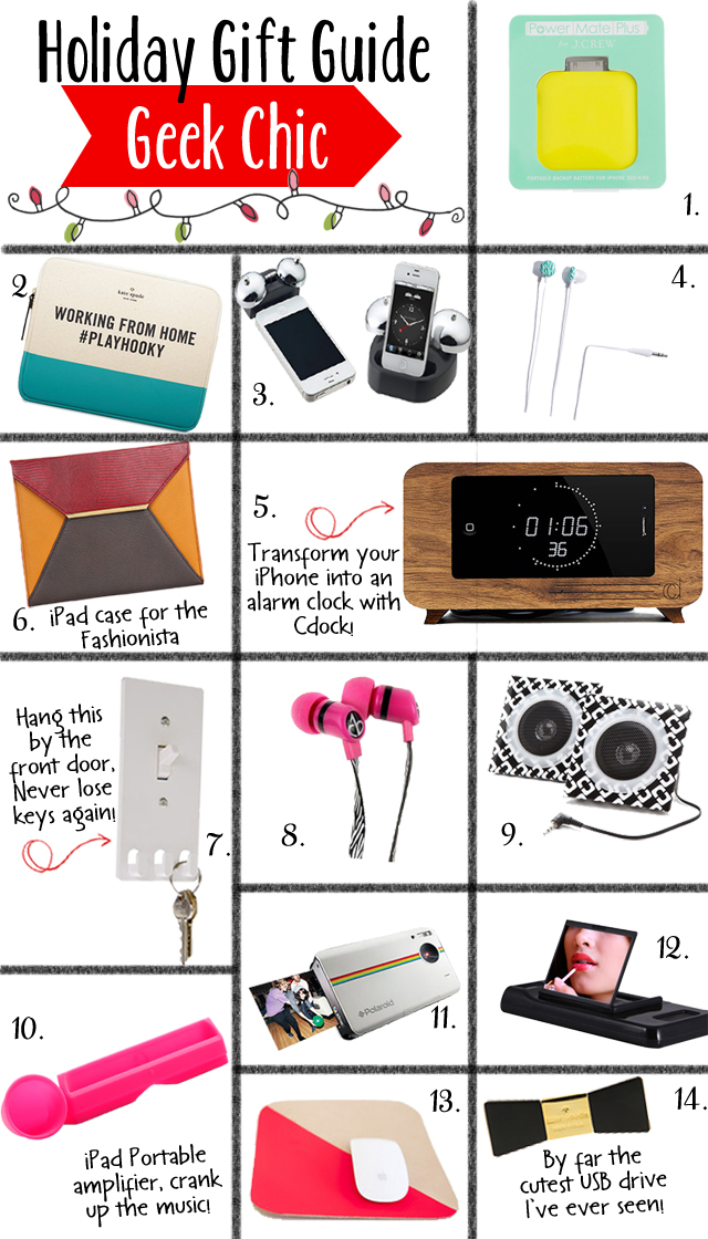 Holiday Gift Guide 2012, Tech Gift Guide