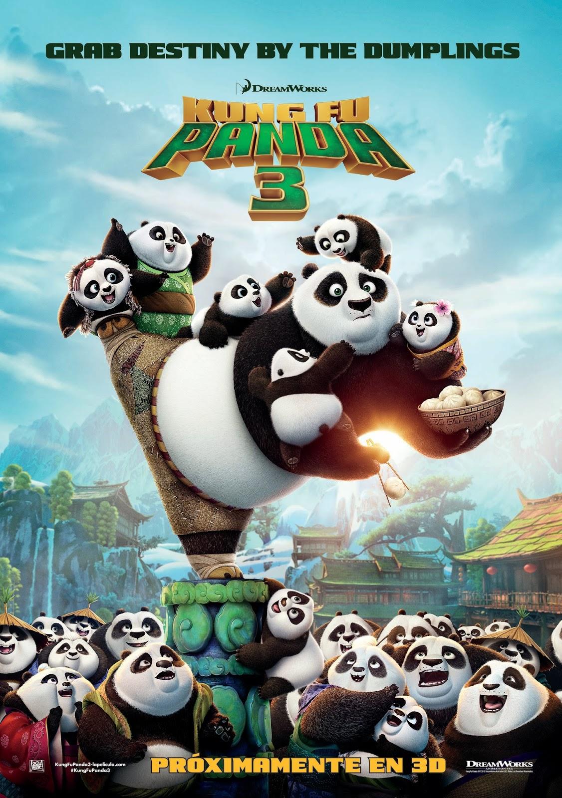 Ver Pelicula Kung Fu Panda 3 en latino