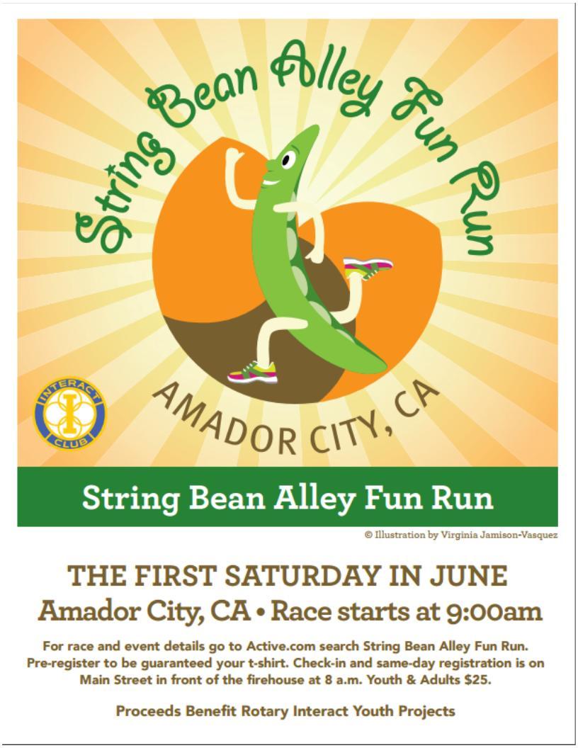 String Bean Alley Fun Run - Sat June 4