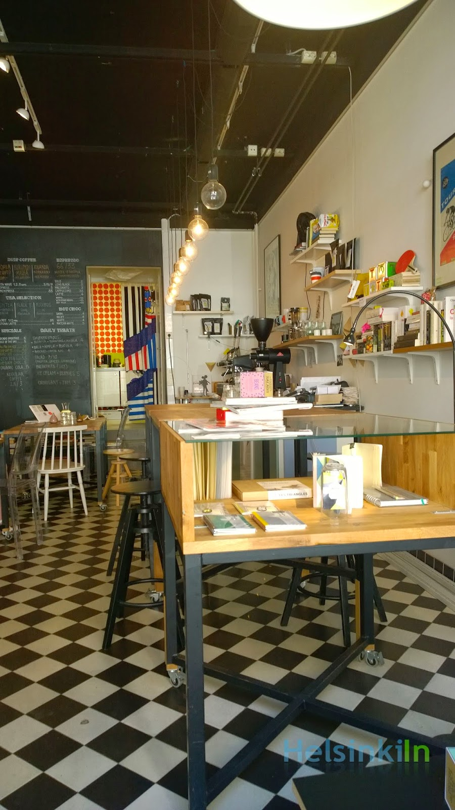 The Exhibitionists cafe