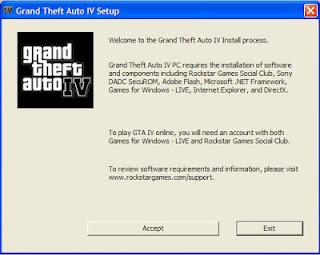 วิธีลงเกมส์ GTA 4 ให้เล่นได้