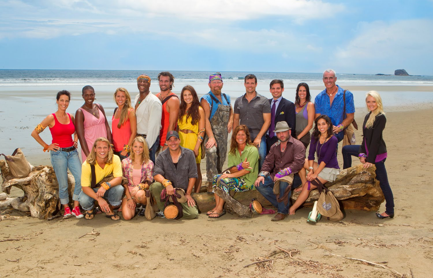 Survivor Redemption Island Cast