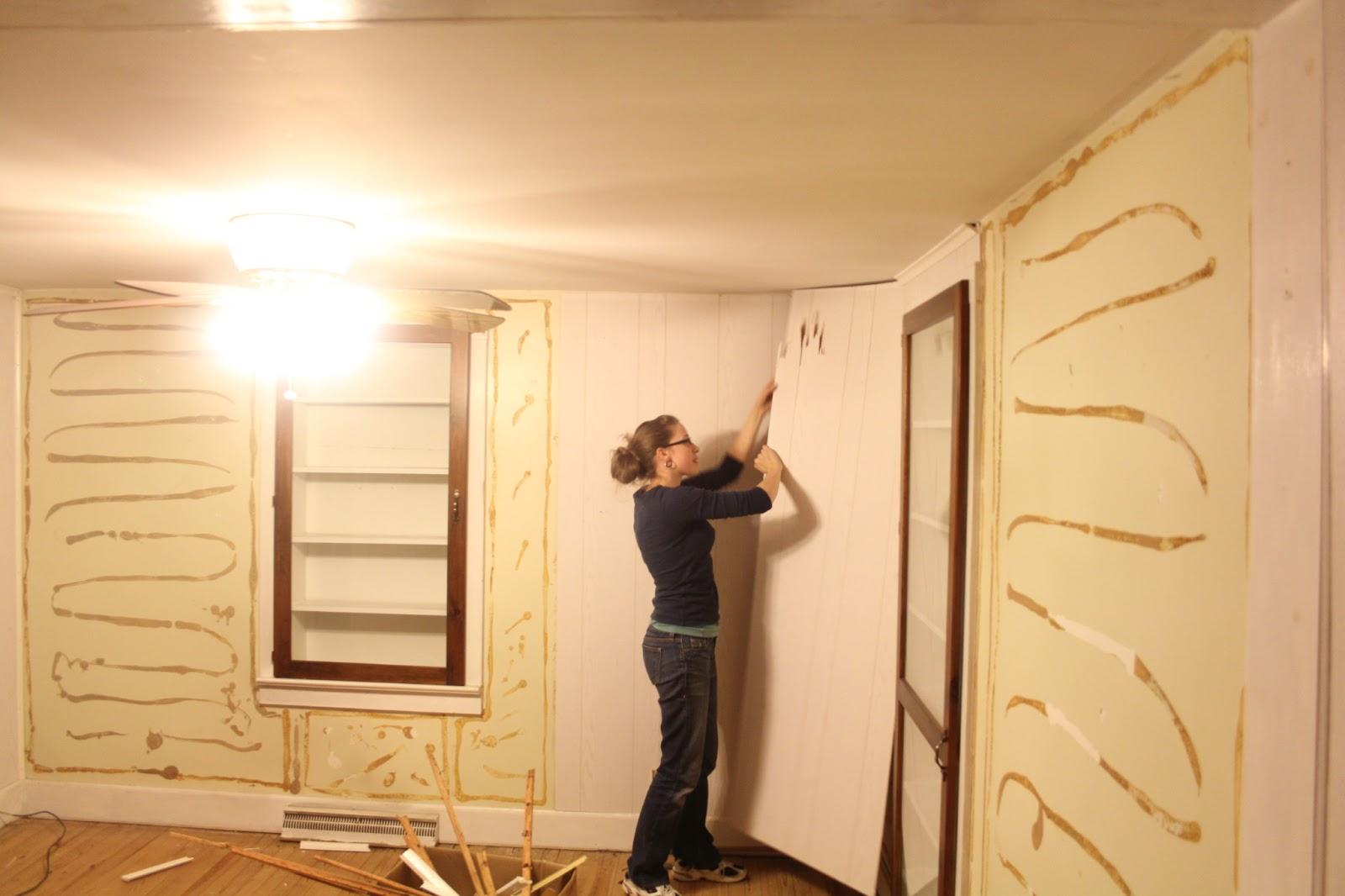 Enchanting Wall Wood Paneling Ideas Mold - The Wall Art Decorations ...