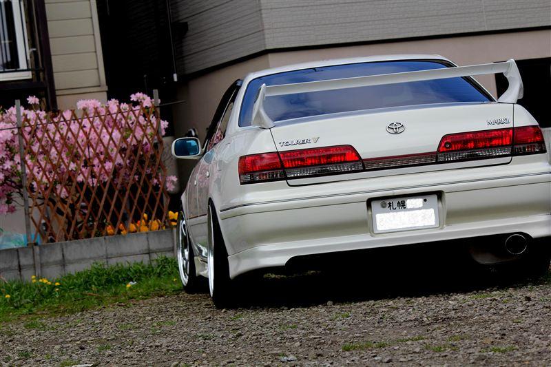 Toyota Mark II X100, 1JZ, JZX100, driftowóz, tuning, RWD, zdjęcia, 日本車, チューニングカー, ドリフト走行, トヨタ マークII