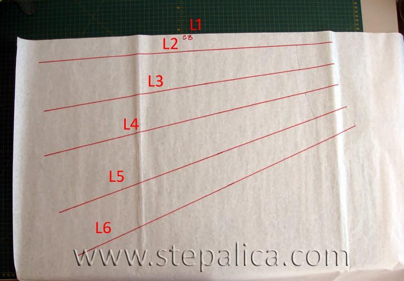 Šivenje Zlata suknje: #4 korekcija kroja za isturenu zadnjicu