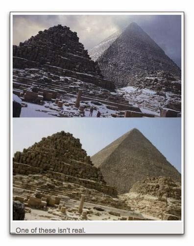 pirámides nevadas