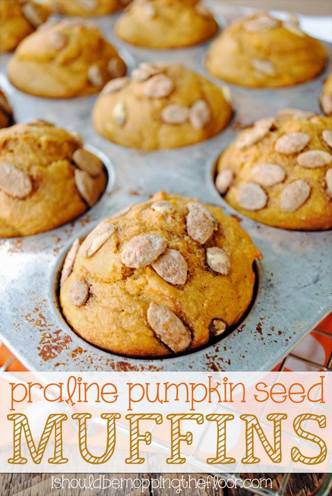 pumpkin seed muffins recipe