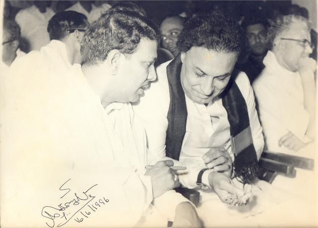MGR & Karunanidhi