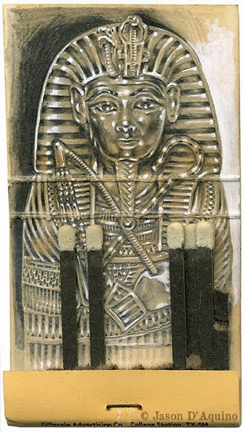 23-Kingtut-Jason-D-Aquino-Vintage-Matchbook-Drawings-www-designstack-co