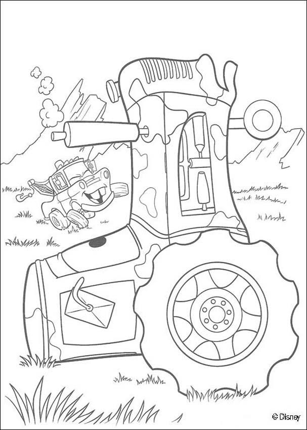 Disney cars 2 coloring pages cars 2