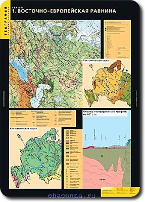 Региональные карты