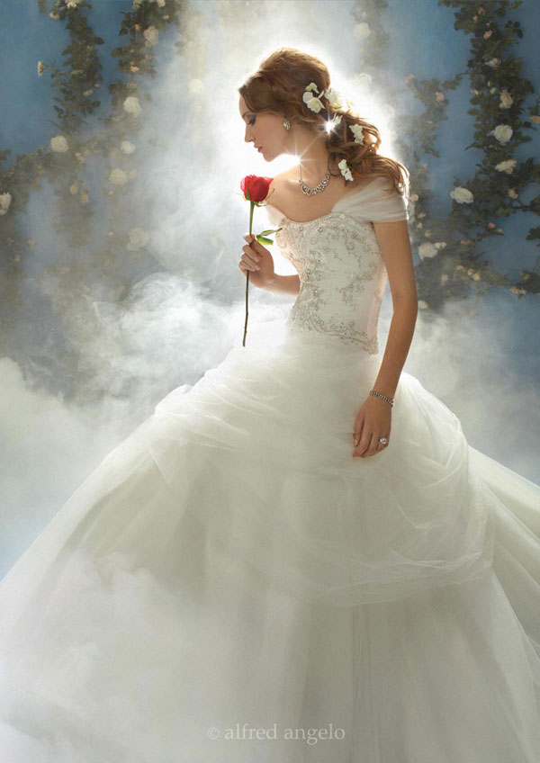 the art of clothes disney inspired wedding gowns