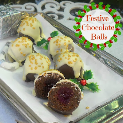chocolate ball cookies