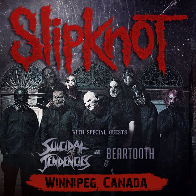Winnipeg Slipknot Concert