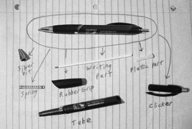 Ballpoint Pen Parts2