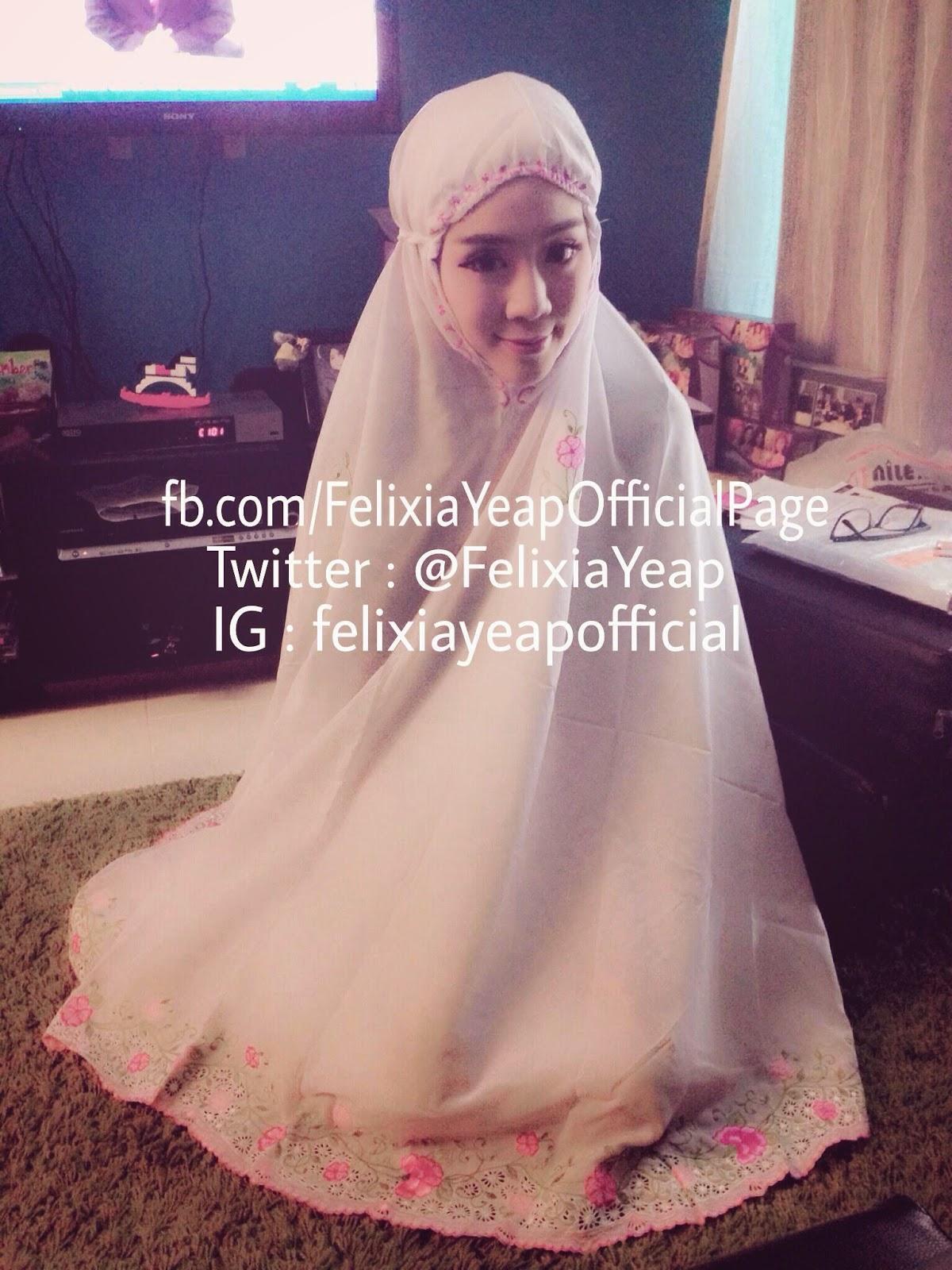 Felixia Yeap-Rania Memeluk Islam