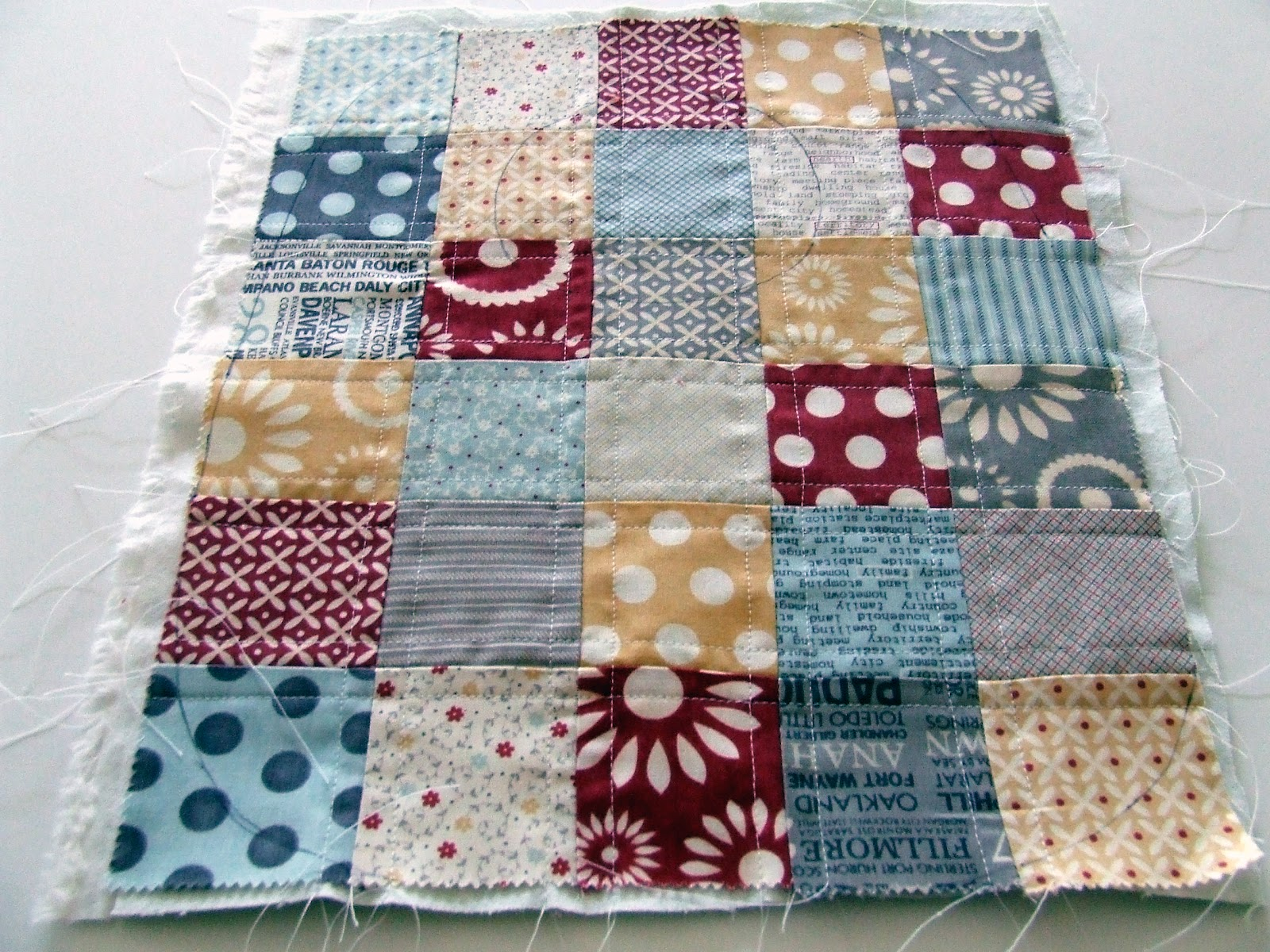 our cozy nest quilted baby bib tutorial