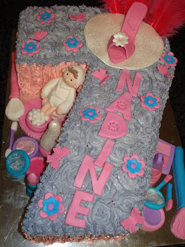 No.7 Pamper Party Cake