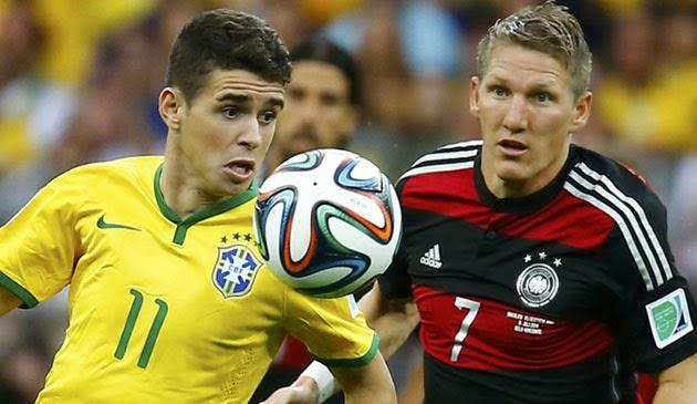 Jerman Permalukan Brasil 7 - 1