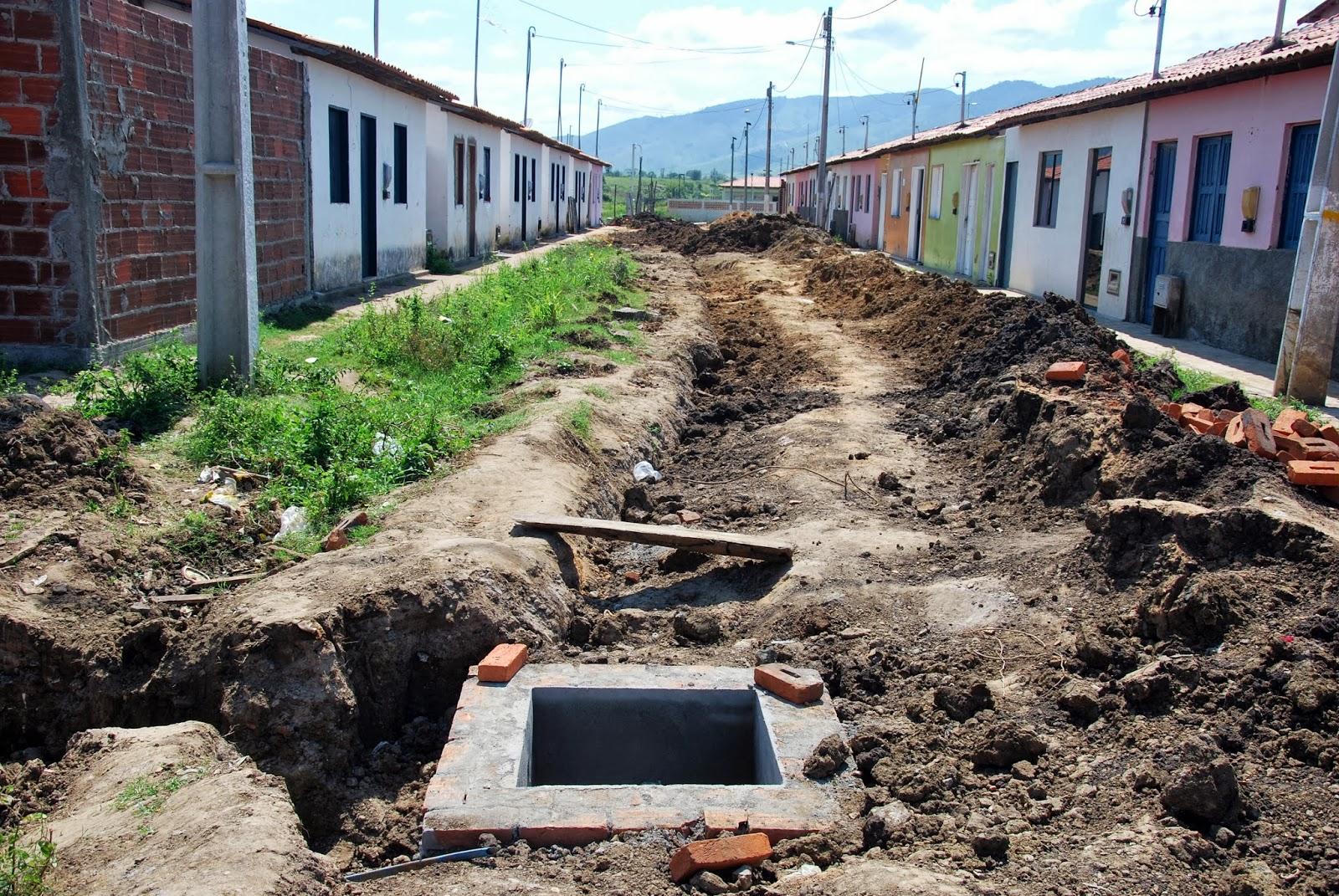 Itarantim Agora: Prefeitura de Itarantim segue com construção de  #3B6A90 1600 1071