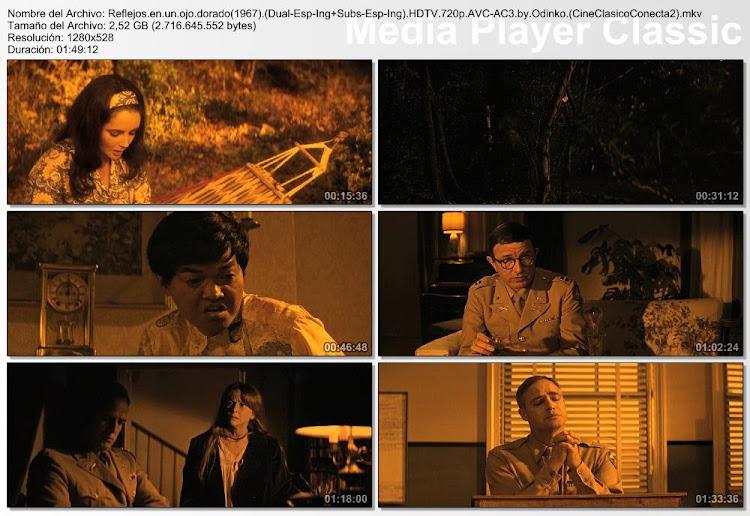 Imagenes de la pelicula:Reflejos en un ojo dorado | 1967 | Reflections in a Golden Eye